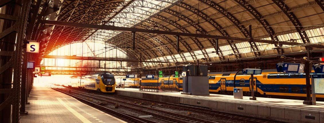 station Amsterdam Iot smart infrastructure sensors