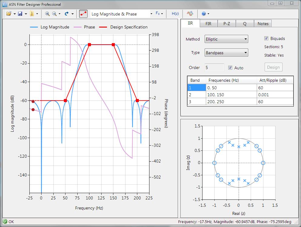 ASN Filter Designer GUI