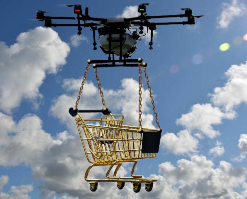 drone delivery shop