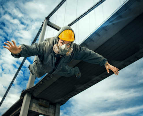 fall detection falling worker