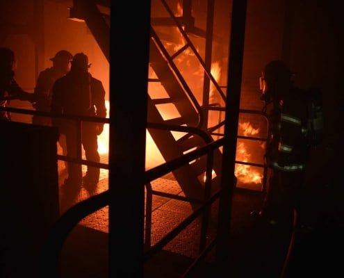 firefighters installation