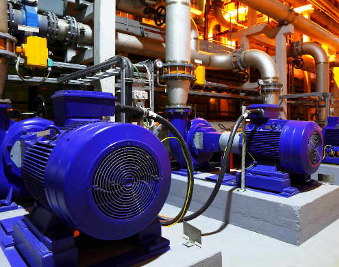 condition monitoring industrial motors predictive maintenance and preventive maintenance to prevent downturn and increase efficency assets