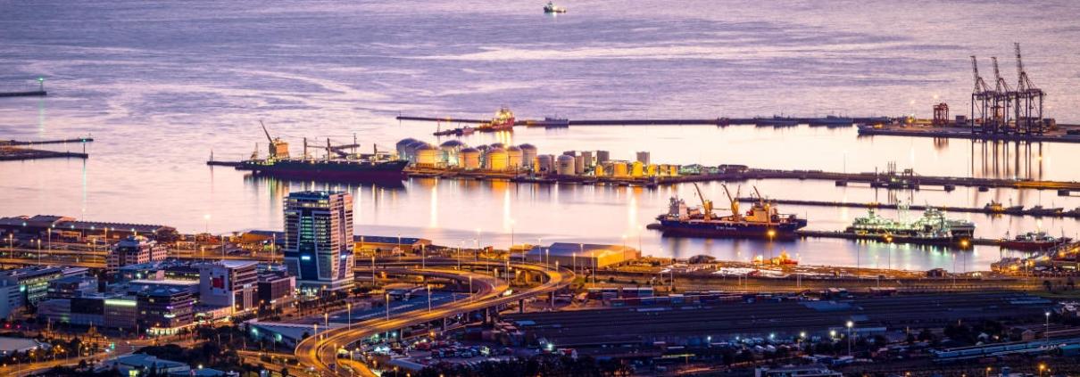 Harbor smart water, Smart Port, IOT for ports, preventive maintenance