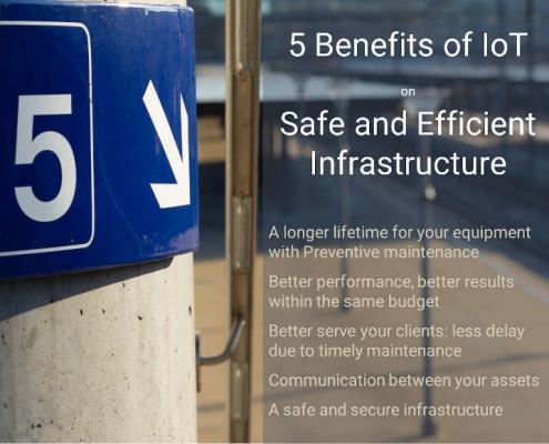 5 benefits IOT Infrastructure