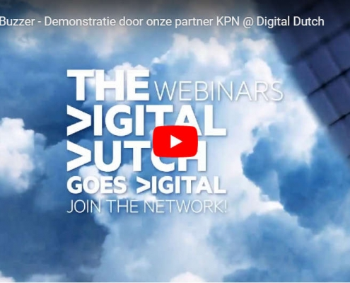 Digital Dutch KPN Covid Buzzer