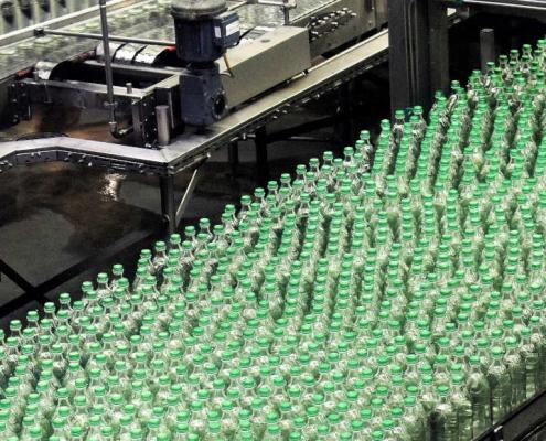 DSP food beverage bottle filling Turbidity measurement