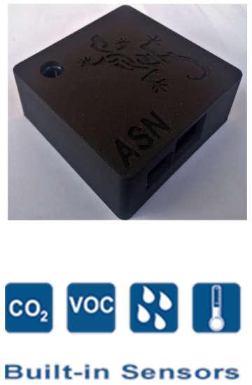 Covid Airmex sensor co2 voc humidity temperature
